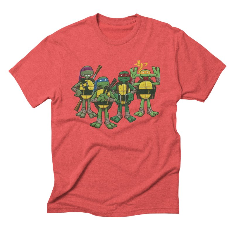 Half Shells Men's Triblend T-shirt by Ian Glaubinger on Threadless!