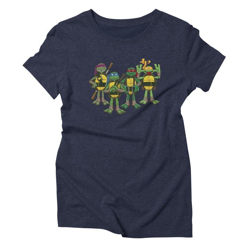 Half Shells Women's Triblend T-shirt by Ian Glaubinger on Threadless!