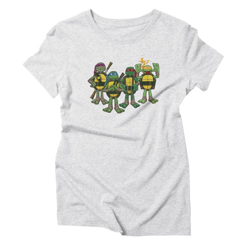 Half Shells Women's T-Shirt by Ian Glaubinger on Threadless!