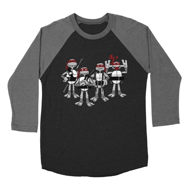 Mirage Shells Women's Baseball Triblend Longsleeve T-Shirt by Ian Glaubinger on Threadless!