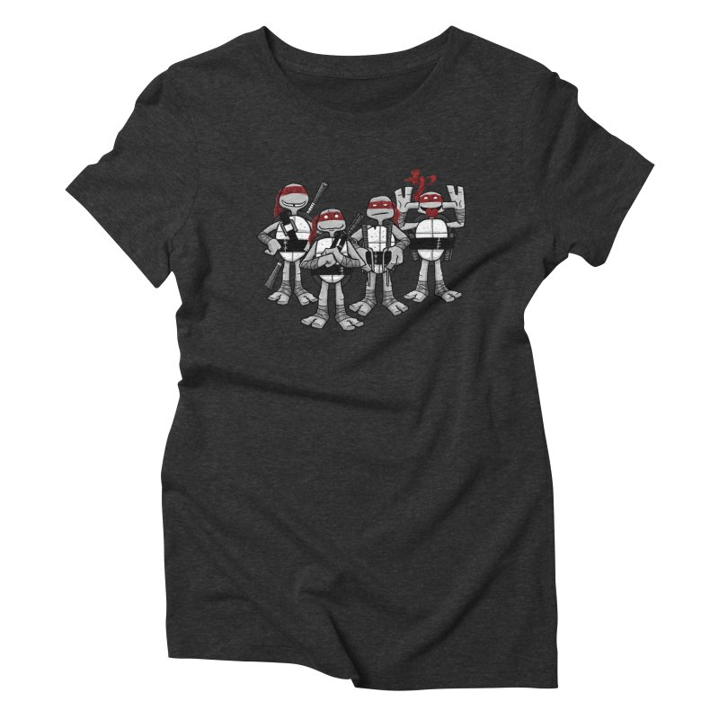 Mirage Shells Women's Triblend T-shirt by Ian Glaubinger on Threadless!
