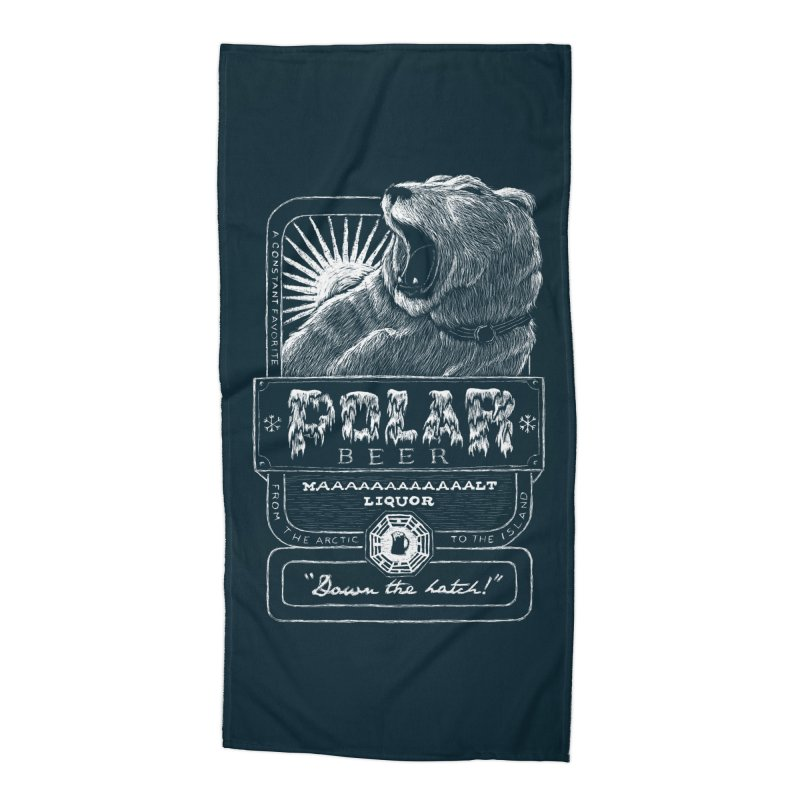 Polar Beer Accessories Beach Towel by Ian Leino @ Threadless