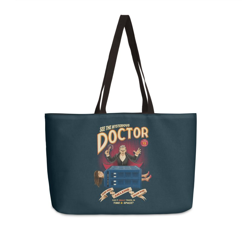 The Mysterious Doctor Accessories Bag by Ian Leino @ Threadless