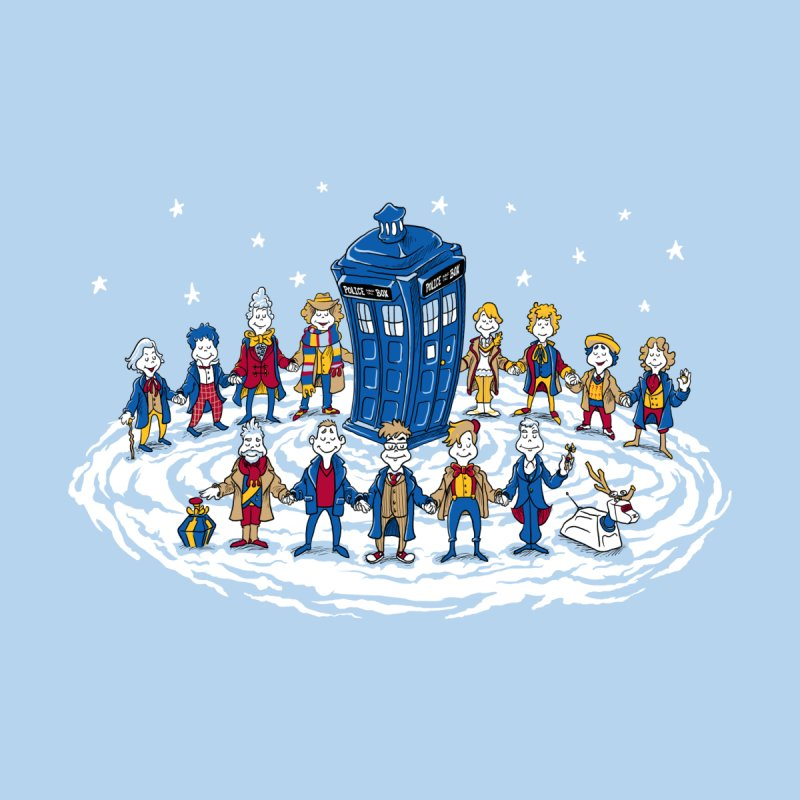 Doctor Whoville Men's Tank by Ian Leino @ Threadless