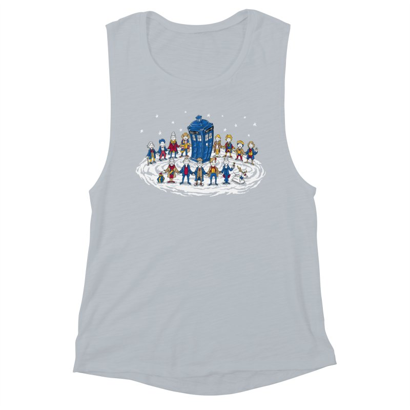Doctor Whoville Women's Muscle Tank by Ian Leino @ Threadless