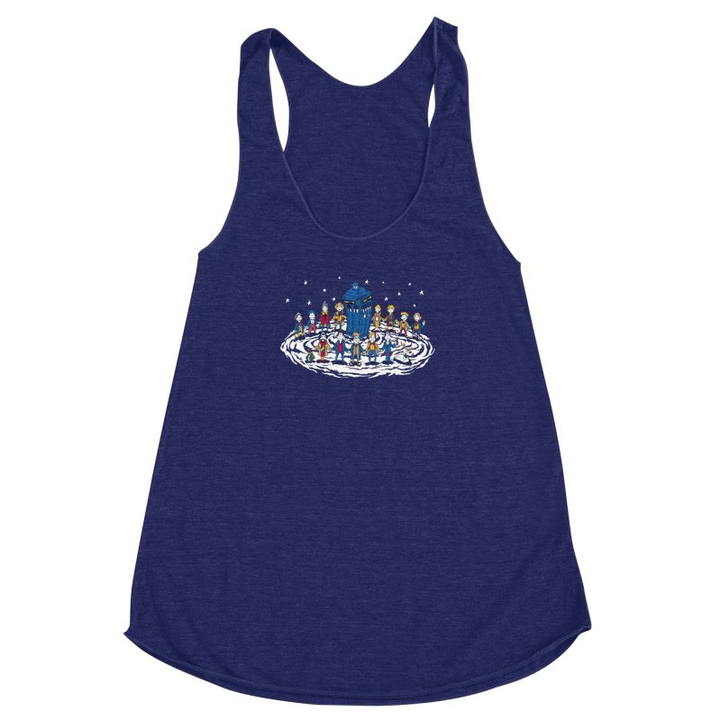 Doctor Whoville Women's Racerback Triblend Tank by Ian Leino @ Threadless