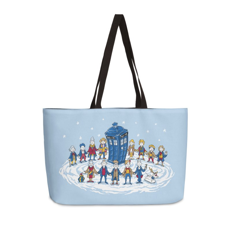 Doctor Whoville Accessories Bag by Ian Leino @ Threadless