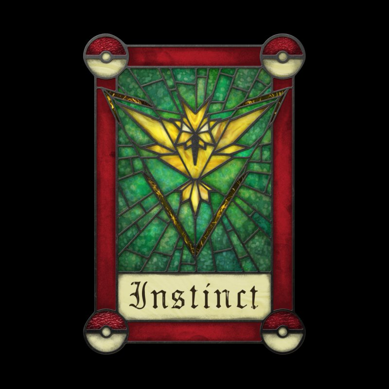 Stained Glass Series - Instinct by Ian Leino @ Threadless