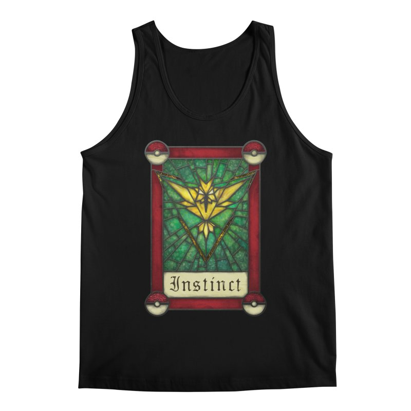 Stained Glass Series - Instinct Men's Tank by Ian Leino @ Threadless