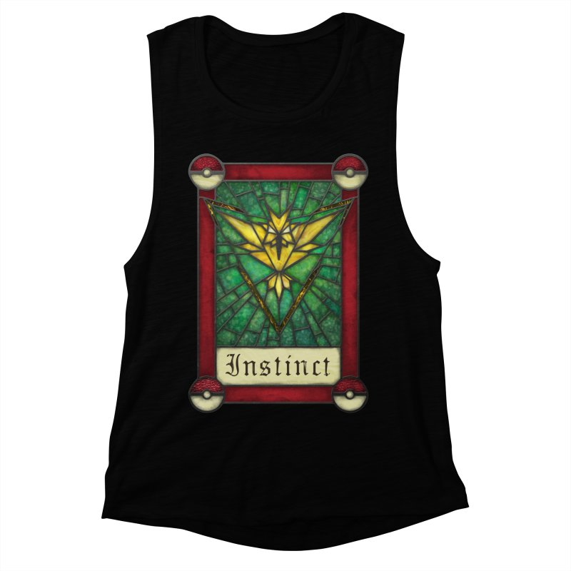 Stained Glass Series - Instinct Women's Muscle Tank by Ian Leino @ Threadless