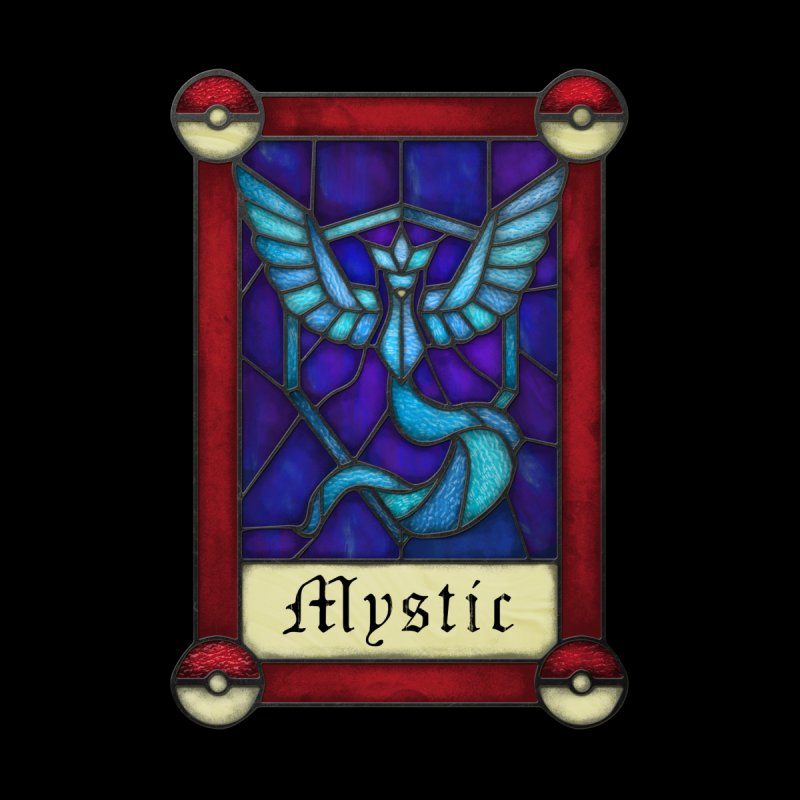 Stained Glass Series - Mystic None  by Ian Leino @ Threadless