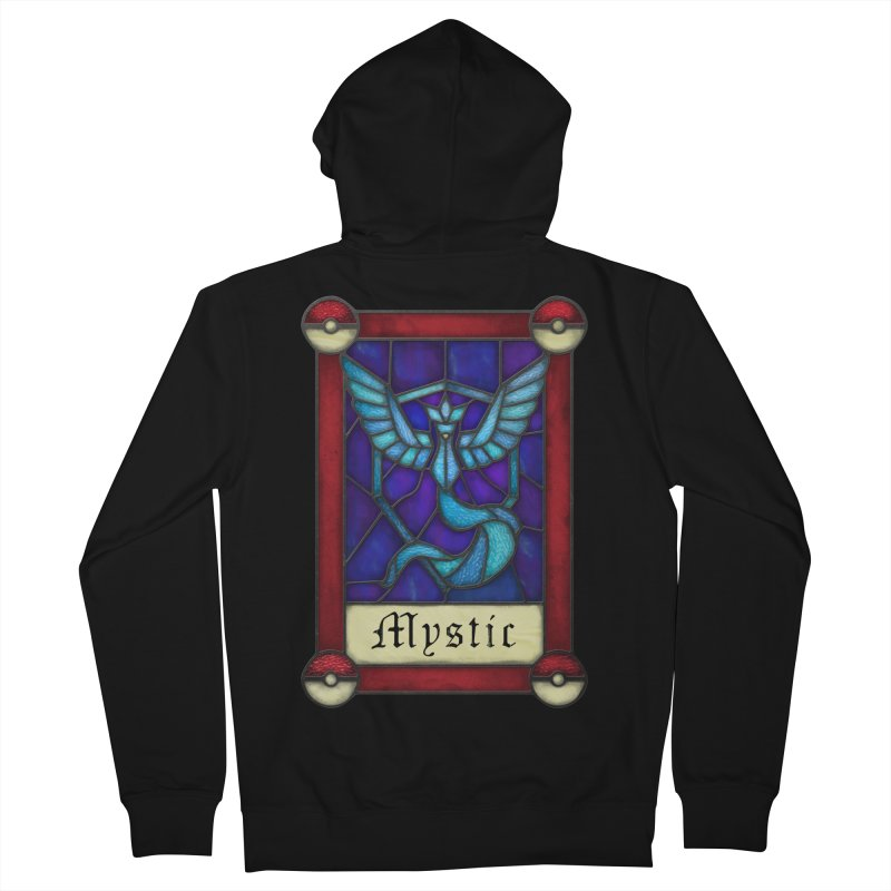 Stained Glass Series - Mystic Men's Zip-Up Hoody by Ian Leino @ Threadless