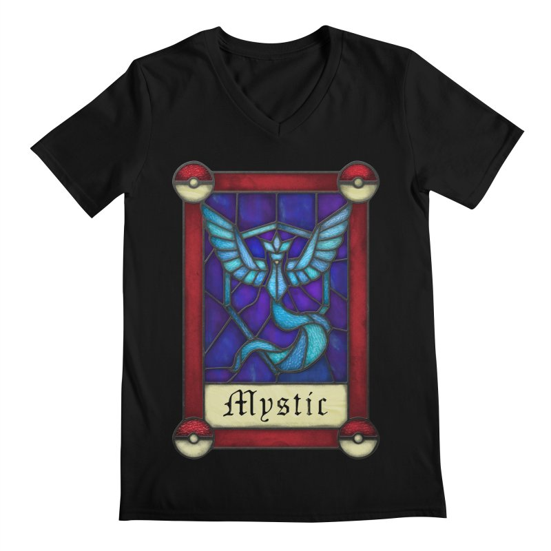 Stained Glass Series - Mystic Men's V-Neck by Ian Leino @ Threadless