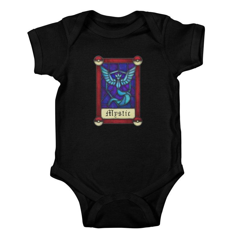 Stained Glass Series - Mystic Kids Baby Bodysuit by Ian Leino @ Threadless