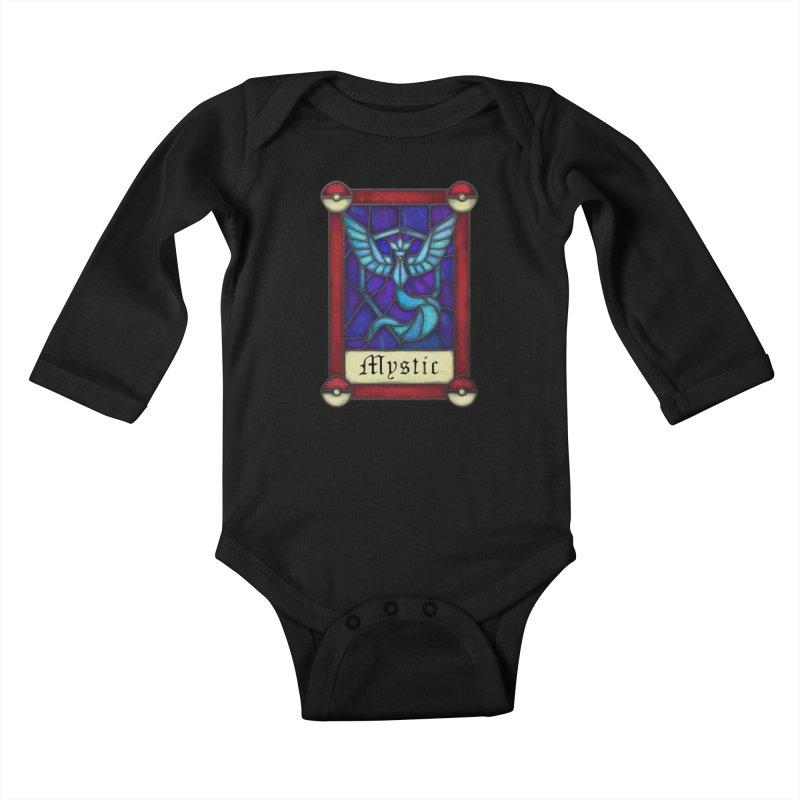 Stained Glass Series - Mystic Kids Baby Longsleeve Bodysuit by Ian Leino @ Threadless