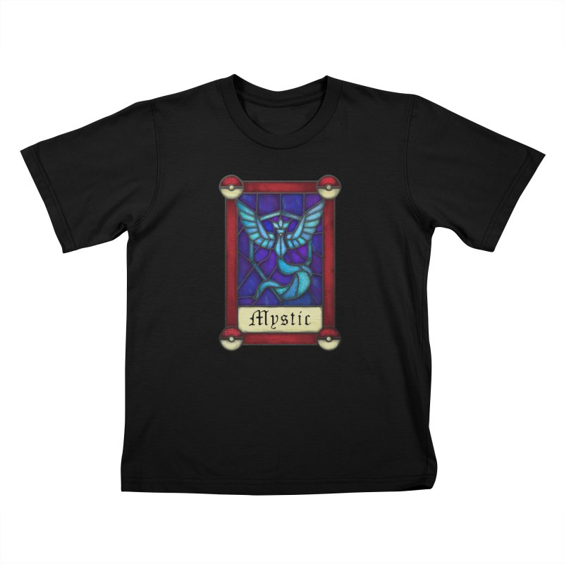 Stained Glass Series - Mystic Kids T-Shirt by Ian Leino @ Threadless