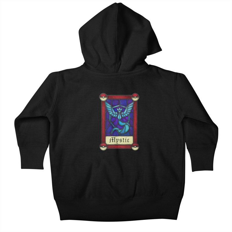 Stained Glass Series - Mystic Kids Baby Zip-Up Hoody by Ian Leino @ Threadless