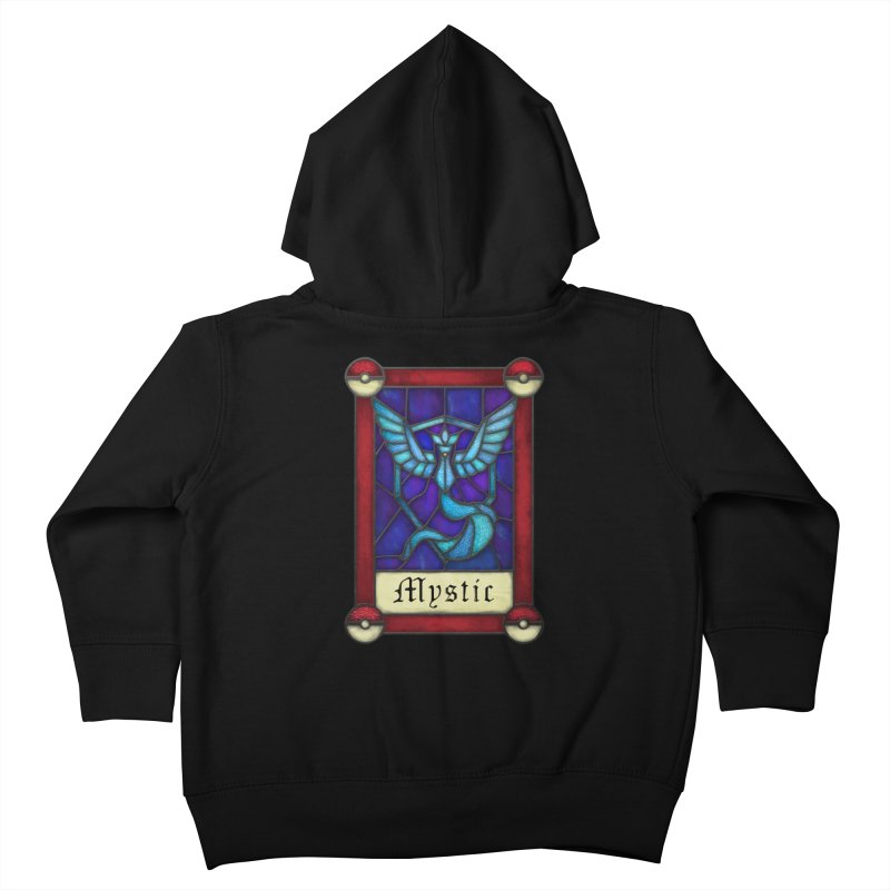 Stained Glass Series - Mystic Kids Toddler Zip-Up Hoody by Ian Leino @ Threadless