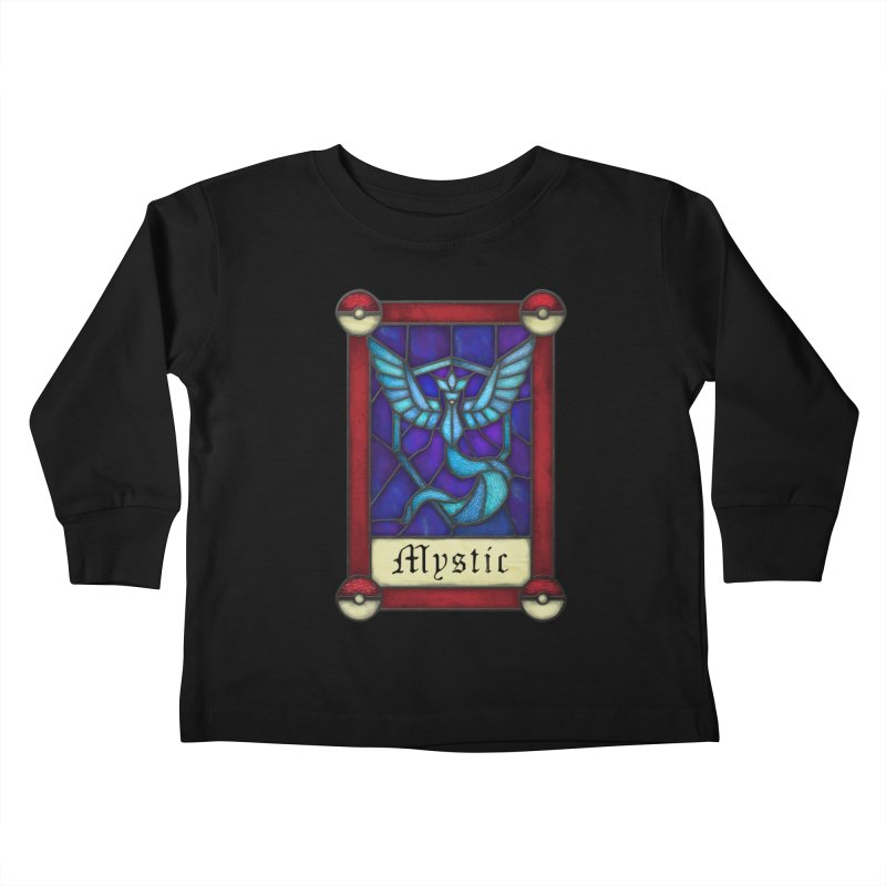 Stained Glass Series - Mystic Kids Toddler Longsleeve T-Shirt by Ian Leino @ Threadless