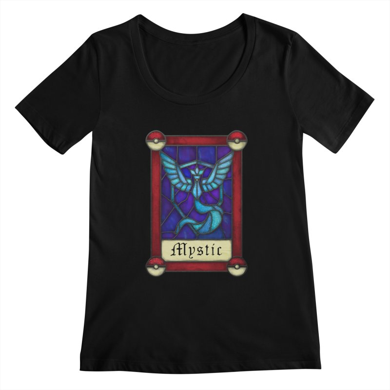 Stained Glass Series - Mystic Women's Scoopneck by Ian Leino @ Threadless