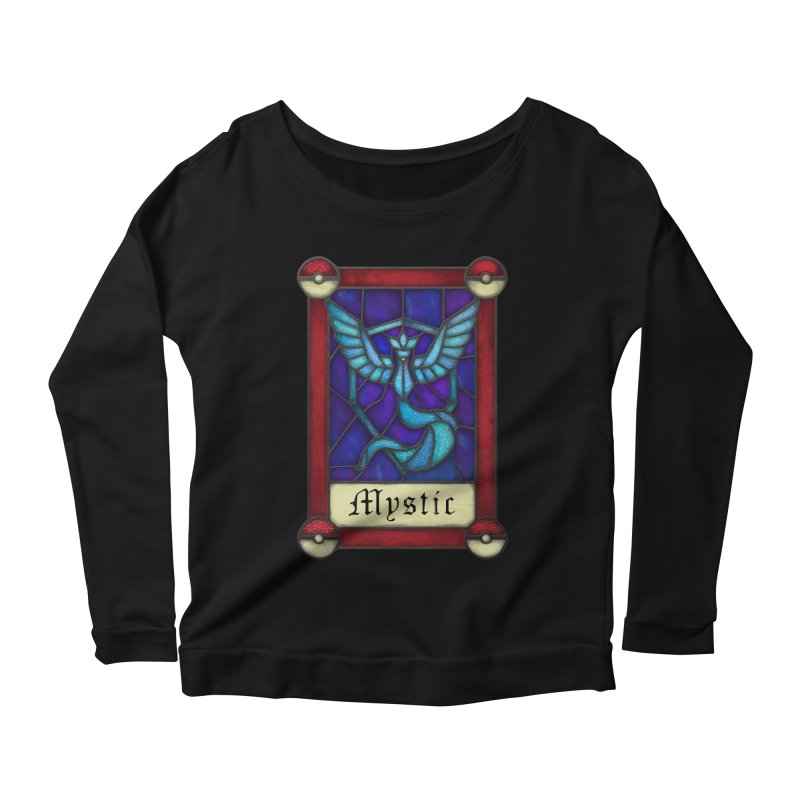 Stained Glass Series - Mystic Women's Scoop Neck Longsleeve T-Shirt by Ian Leino @ Threadless