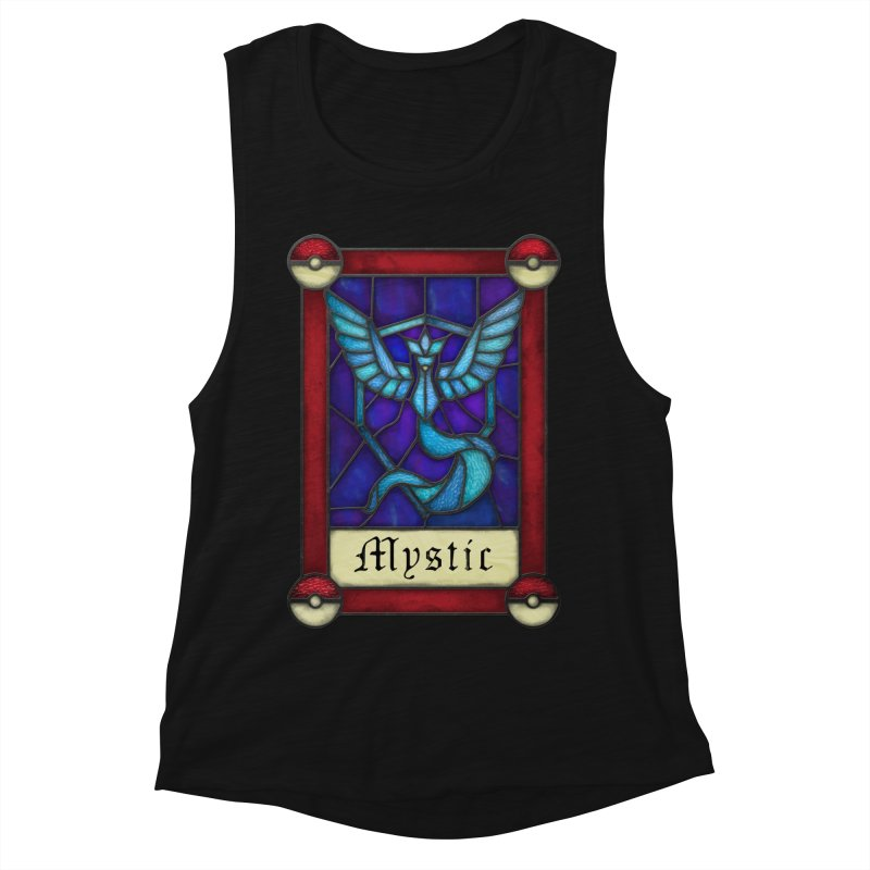 Stained Glass Series - Mystic Women's Muscle Tank by Ian Leino @ Threadless
