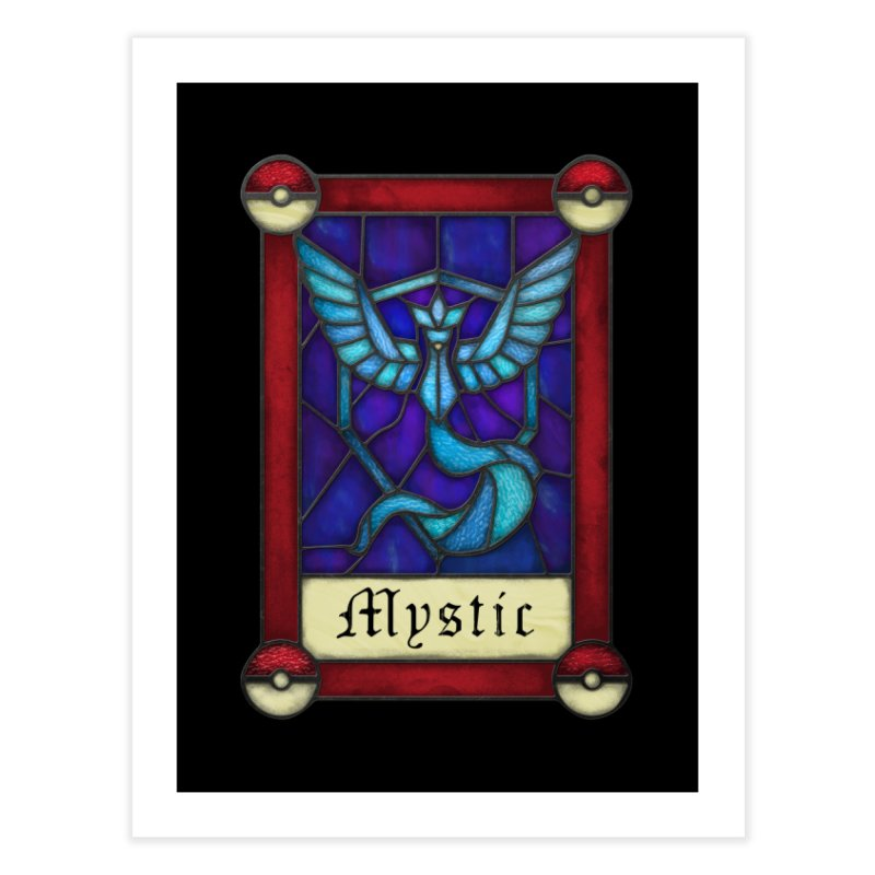 Stained Glass Series - Mystic Home Fine Art Print by Ian Leino @ Threadless