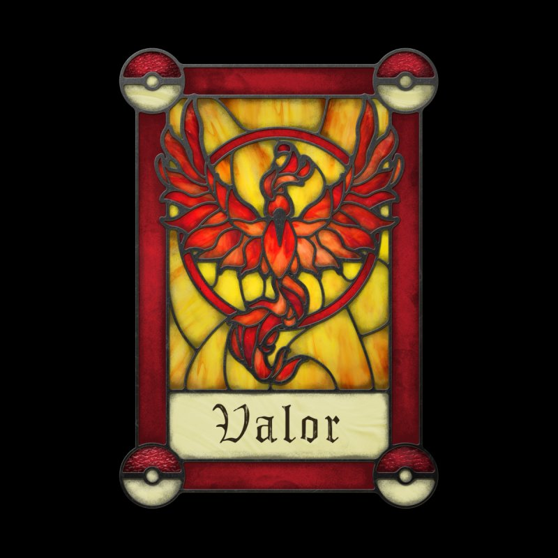 Stained Glass Series - Valor None  by Ian Leino @ Threadless