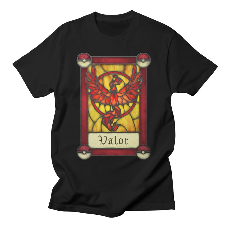 Stained Glass Series - Valor Men's T-Shirt by Ian Leino @ Threadless