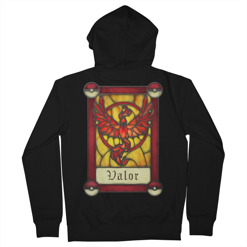 Stained Glass Series - Valor Men's Zip-Up Hoody by Ian Leino @ Threadless