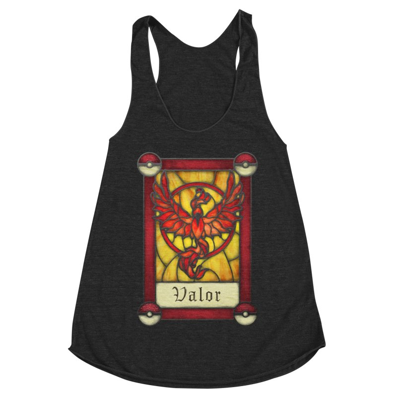 Stained Glass Series - Valor Women's Racerback Triblend Tank by Ian Leino @ Threadless