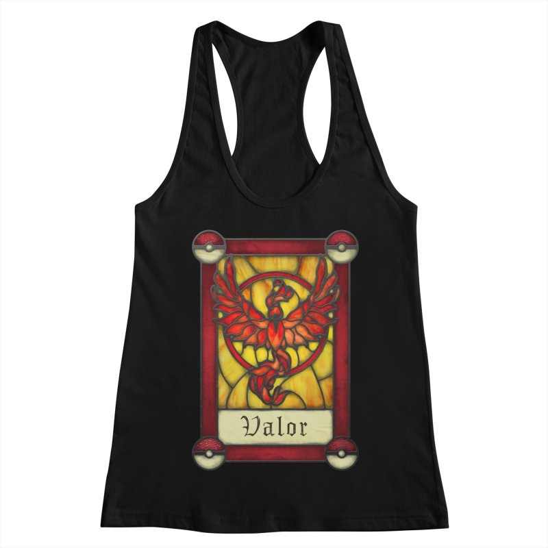 Stained Glass Series - Valor Women's Racerback Tank by Ian Leino @ Threadless