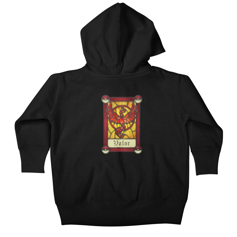 Stained Glass Series - Valor Kids Baby Zip-Up Hoody by Ian Leino @ Threadless