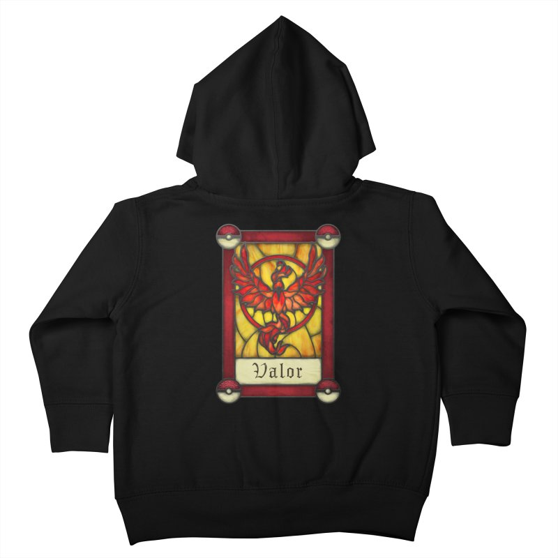 Stained Glass Series - Valor Kids Toddler Zip-Up Hoody by Ian Leino @ Threadless
