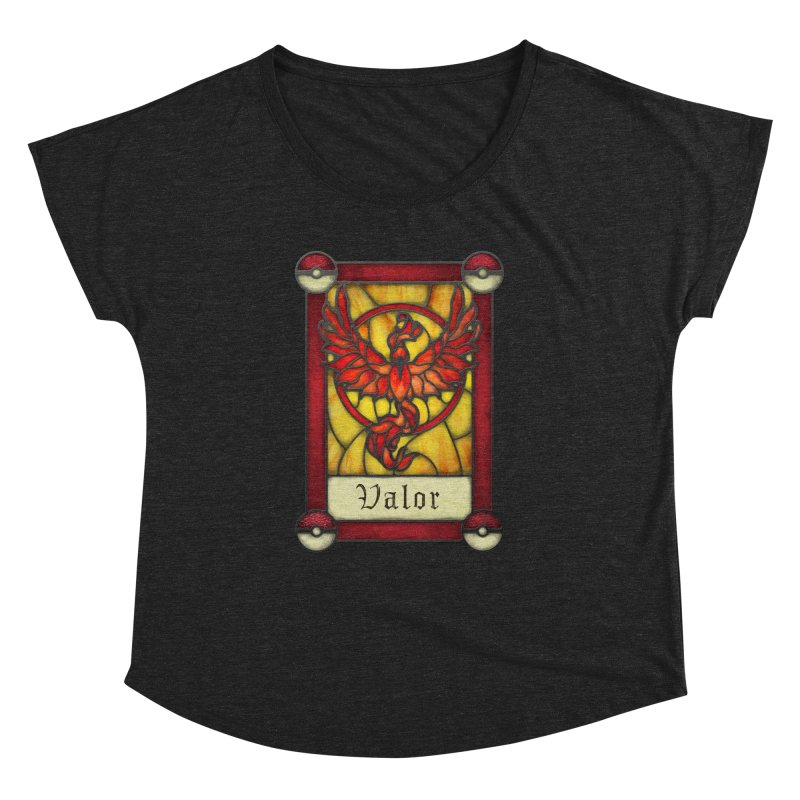 Stained Glass Series - Valor   by Ian Leino @ Threadless