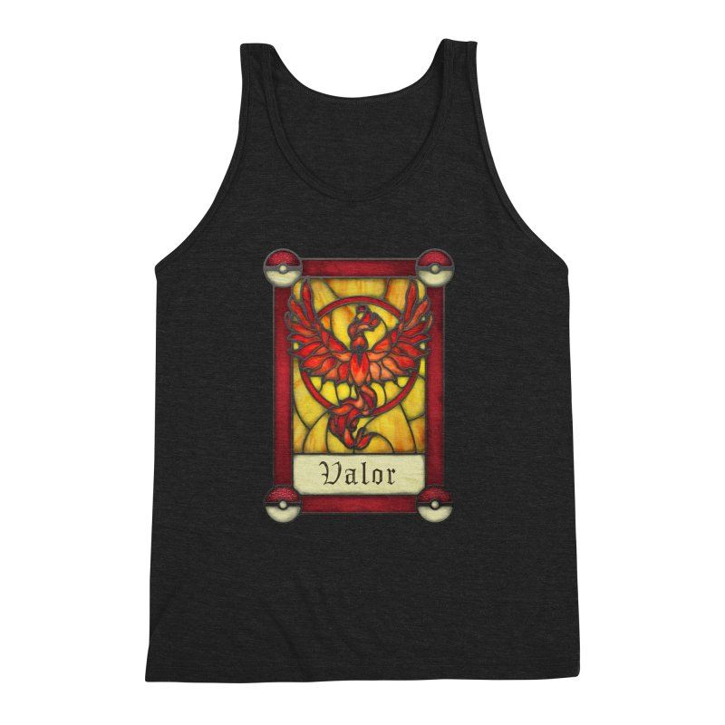 Stained Glass Series - Valor Men's Triblend Tank by Ian Leino @ Threadless
