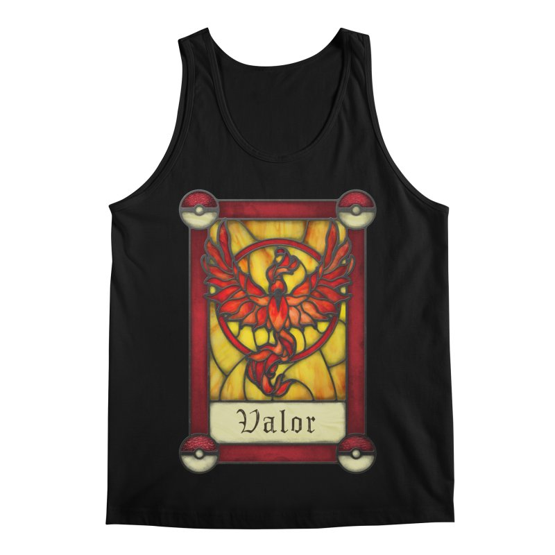Stained Glass Series - Valor Men's Regular Tank by Ian Leino @ Threadless