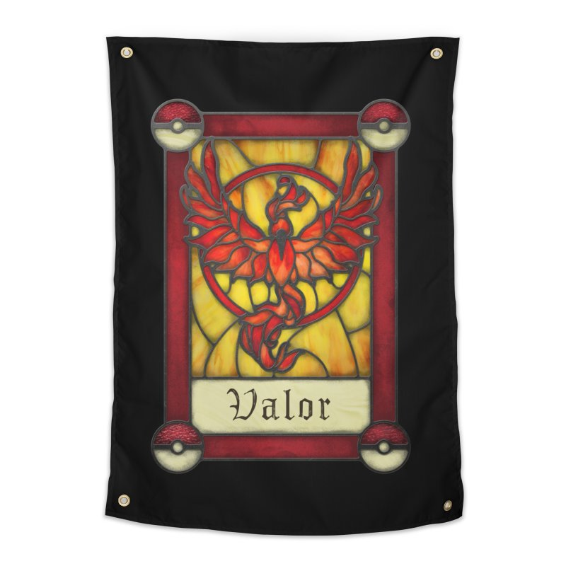 Stained Glass Series - Valor Home Tapestry by Ian Leino @ Threadless