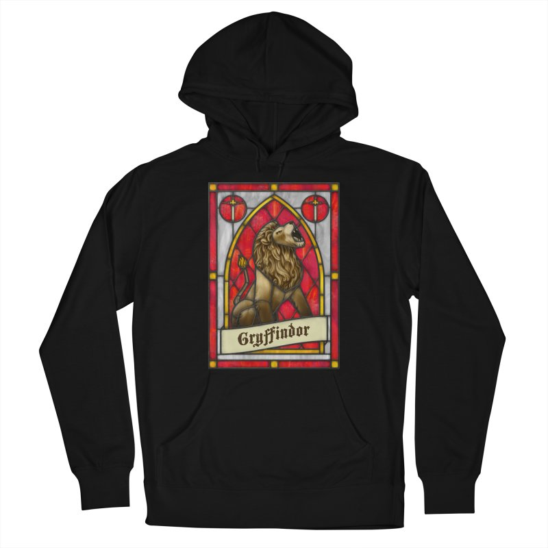 Stained Glass Series - Gryffindor Men's Pullover Hoody by Ian Leino @ Threadless