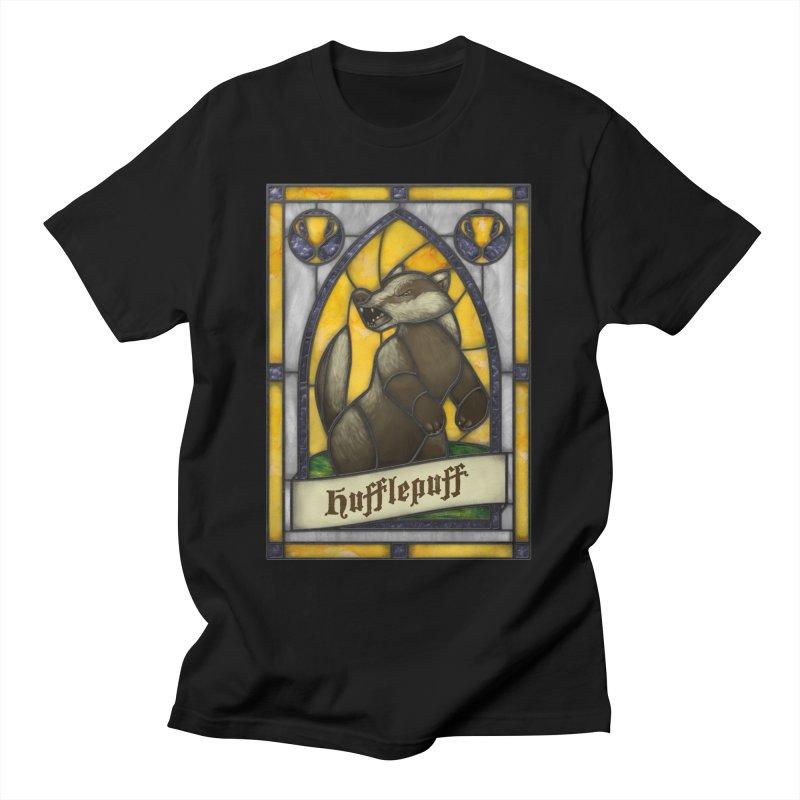 Stained Glass Series - Hufflepuff Women's T-Shirt by Ian Leino @ Threadless