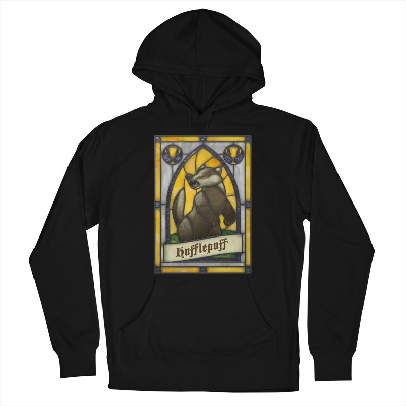 Stained Glass Series - Hufflepuff Men's Pullover Hoody by Ian Leino @ Threadless