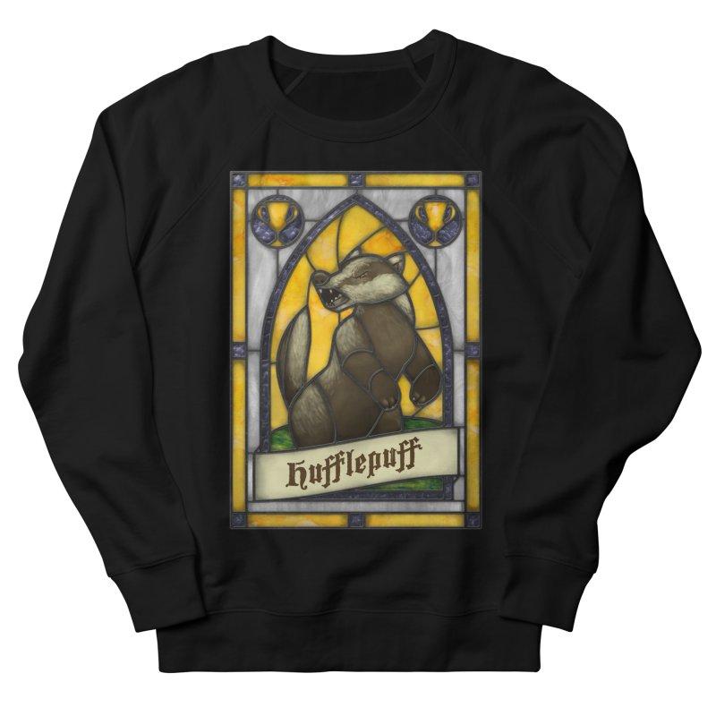 Stained Glass Series - Hufflepuff Men's Sweatshirt by Ian Leino @ Threadless