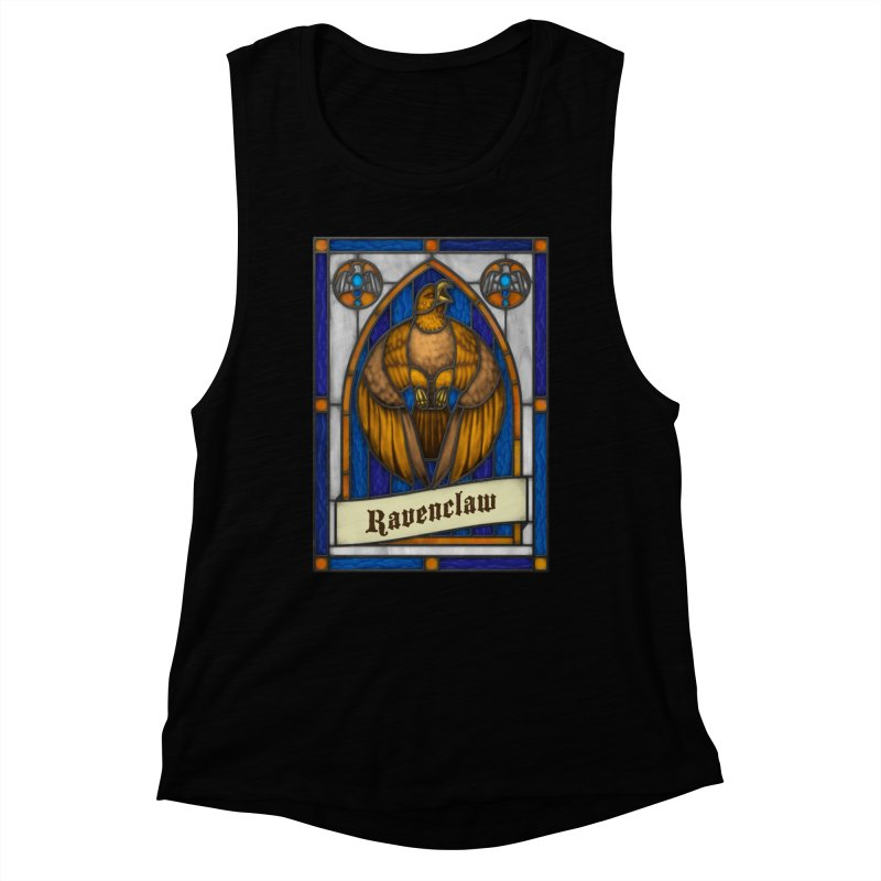 Stained Glass Series - Ravenclaw Women's Muscle Tank by Ian Leino @ Threadless