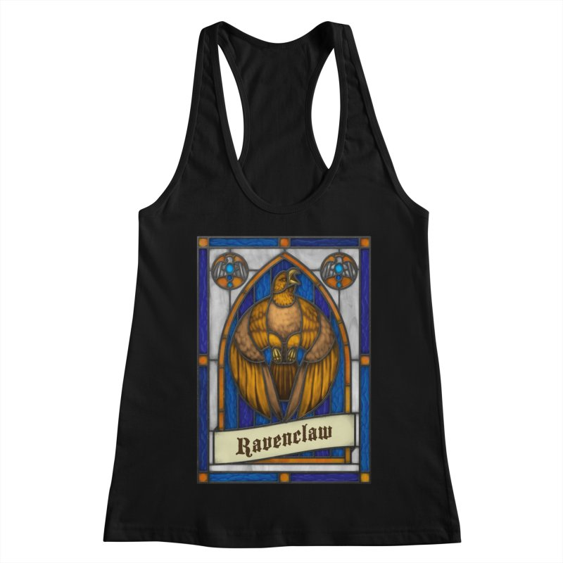 Stained Glass Series - Ravenclaw Women's Racerback Tank by Ian Leino @ Threadless