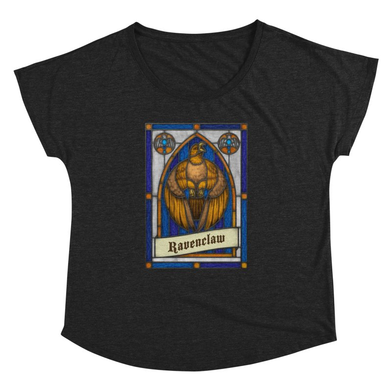 Stained Glass Series - Ravenclaw Women's Dolman by Ian Leino @ Threadless