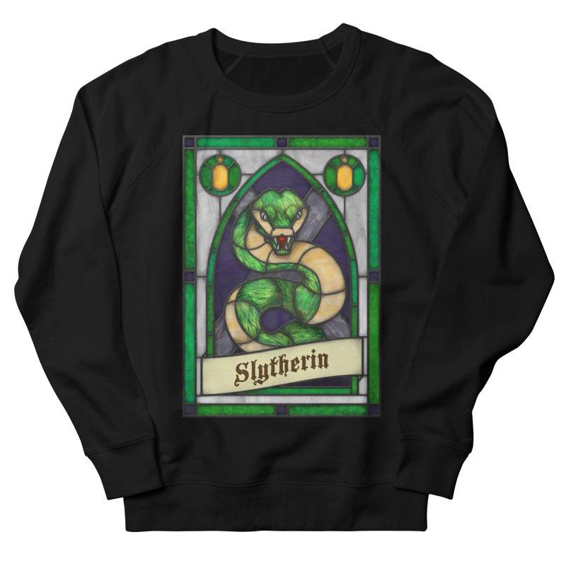 Stained Glass Series - Slytherin Men's Sweatshirt by Ian Leino @ Threadless
