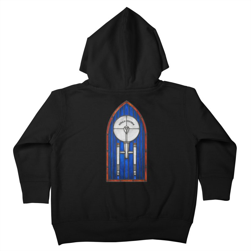 Stained Glass Series - Enterprise Kids Toddler Zip-Up Hoody by Ian Leino @ Threadless