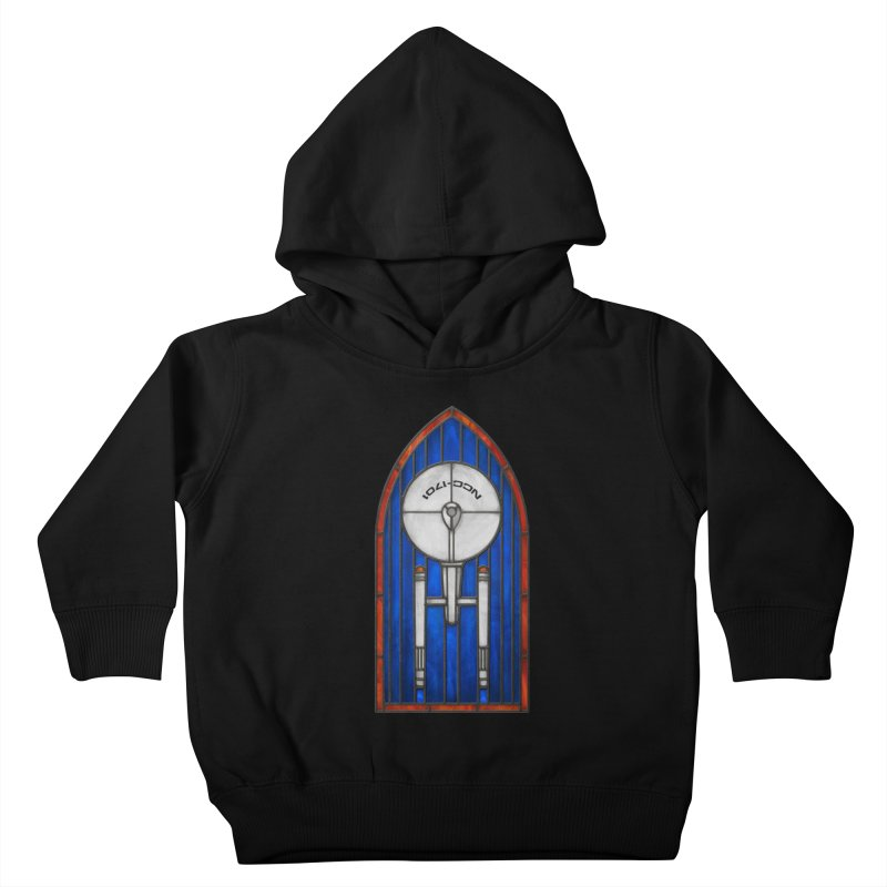 Stained Glass Series - Enterprise Kids Toddler Pullover Hoody by Ian Leino @ Threadless