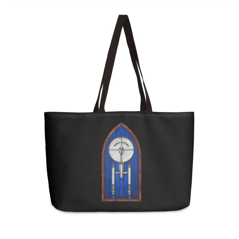 Stained Glass Series - Enterprise Accessories Bag by Ian Leino @ Threadless