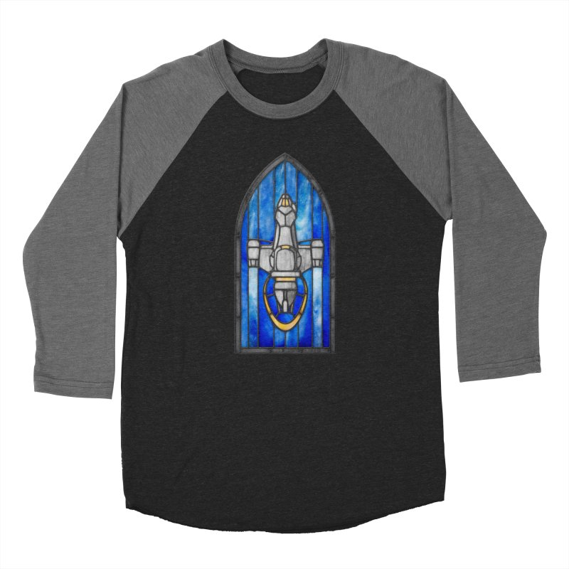 Stained Glass Series - Serenity Women's Longsleeve T-Shirt by Ian Leino @ Threadless